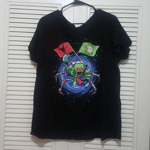 Nickelodeon  Invader Zim (LOOT wear) T Shirt